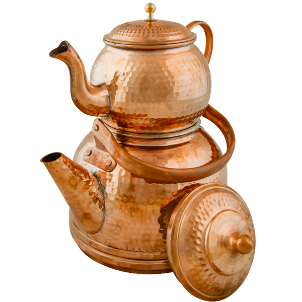 Round Kettle and Teapot