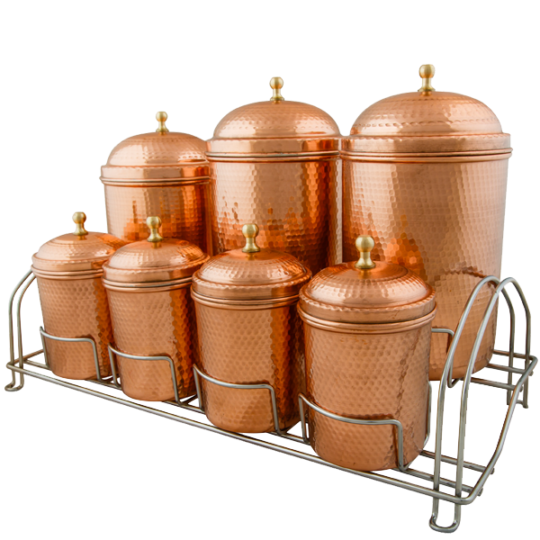 Spice Canister Set With metal stand