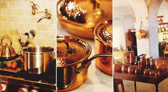 Types of Copper Utensils